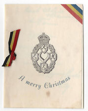 Corps of the Royal Electrical & Mechanical Engineers Christmas Card c1950