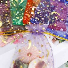 50X Organza Bag Jewelry Packaging Gift Candy Wedding Party Goodie Packing Favors