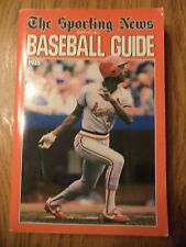 1986 SPORTING NEWS BASEBALL GUIDE WILLIE MCGEE ST. LOUIS CARDINALS