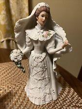 "Lenox Fine Porcelain Sculpture Figurine ""The Centennial Bride"" 1987 Mint Cond."