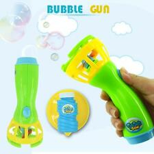 Summer Funny Magic Bubble Blower Machine Bubble Maker Mini Fan Kids Outdoor Toys