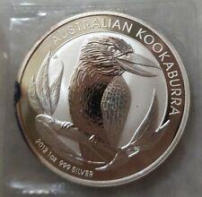 2012 AUSTRALIA KOOKABURRA BIRD 1 OZ SILVER COIN