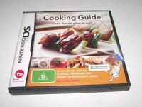 Cooking Guide Nintendo DS 2DS 3DS Game  *Booklet*