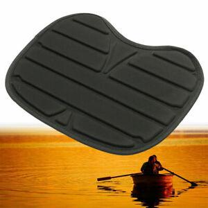 Detachable Kayak Seat Waterproof Fishing Cushion Black Boat Padded Accessories.