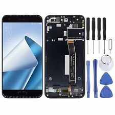 Black LCD Display Touch Screen Digitizer Replacement Frame For Asus Zenfone 4