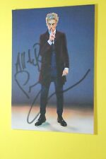 Peter Capaldi (Doctor Who) Signed PR Card