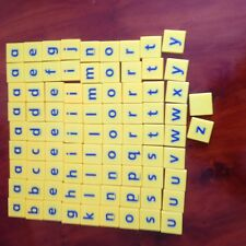 Junior Scrabble, Batch Of Letter Tiles. Genuine Mattel Games Parts.