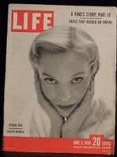 LIFE June 5,1950 Stasia Kos / Sugar Ray Robinson / Bird-Cage House / Poison Ivy