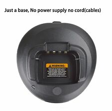 Only Base no power supply for Motorola Radio CP185 CP1300 CP1600 Battery Charger