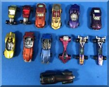 13 VINTAGE TOPPER JOHNNY LIGHTNING DIECAST PUSH CAR LOT PURPLE CUSTOM FERRARI