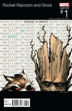 Rocket Raccoon and Groot #1 Hip Hop Variant Cover