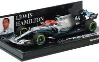 Minichamps 1/43 Mercedes AMG Petronas F1 Team W10 EQ Power + 2019 F1 Monaco GP W