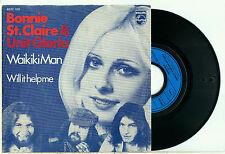 "BONNIE St. CLAIRE & UNIT GLORIA Waikiki Man 1973 DUTCH GLAM - PS VINYL SINGLE 7"""