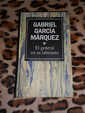 EL GENERAL EN SU LABERINTO - Gabriel Garcia Marquez - RBA, 1993