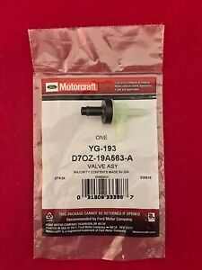 New Genuine OEM Ford Motorcraft Vacuum Control Valve-Check Valve YG-193