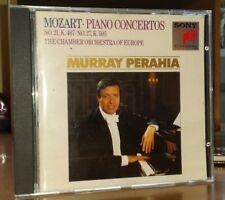 Sony Classics 1st Murray Perahia COE Mozart Piano Concertos 21 27 EMI Decca DG