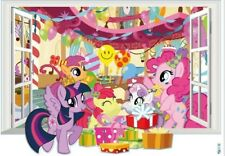 My Little Pony Birthday Party Wall Decal / Decorative Sticker 20 x 28