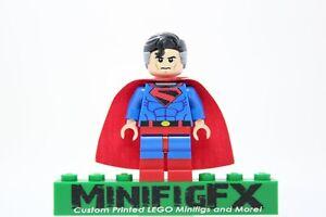 KINGDOM COME SUPERMAN Custom Minifig DC Superhero Justice League on LEGO Bricks