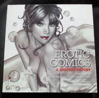 EROTIC COMICS GRAPHIC HISTORY II 1970s ON VINTAGE EROTICA ADULT COMIC ART 1ST ED