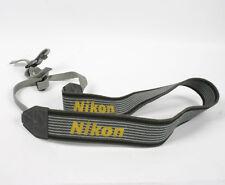 Grey Nikon Shoulder Camera Strap