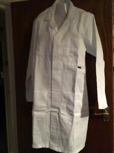 Mens Womens MAD SCIENTIST / DOCTORS /  LAB COAT Fancy Dress Outfit