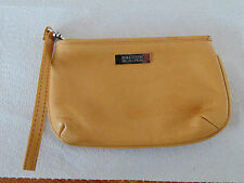 KENNETH COLE REACTION Tan Colored LEATHER Purse - Gently Used