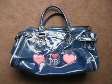 Pauls Boutique glossy navy blue bag