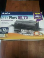 USED ONLY ONCE- Aqueon Quiet Flow 55/75 Filter for Tanks Up to 90 Gal