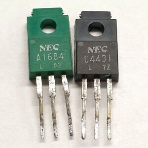 2SA1684 2SC4431 NEC Matched pulled original transistors Group: L
