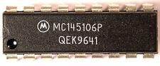 IC MC145106 - MC145106P  - PLL IC for *GALAXY* 88 99V CB - MOTOROLA *NOS* Qty:1