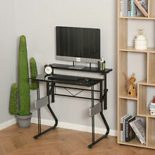 Writing Computer Desk Height Adjustable Study Table Home Office Workstation