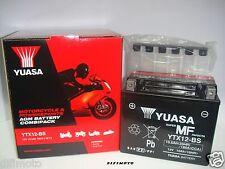 BATERÍA ORIGINAL YUASA YTX12-BS KYMCOGente S I 300 2008 2009 2010 2011 2012