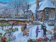 .PUZZLE...JIGSAW....MITCHELL...A Winter Garden....500pc....Sealed...