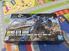 Hg Ms-0B Gouf Gundam Model 1/144