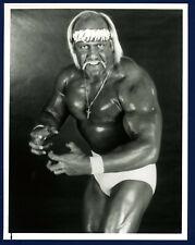 1988 HULK HOGAN Original TYPE 1 Press Photo NBC Promotional ! WWF HOF ! NICE 🔥