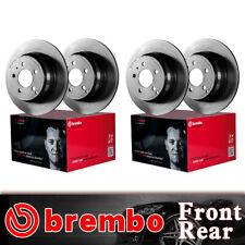 Front & Rear Brembo Coated OE Brake Rotors For 2009-2012 Toyota RAV4
