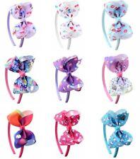 Jojo Siwa Unicorn Rainbow Cupcake Headbands