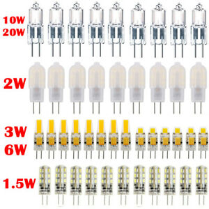 G4 ECO COB LED 10W 20W Capsule Light Bulb Replacement Capsule Halogen Lamp DC12V