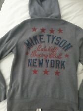 *Roots Of Fight Mike Tyson Grey Hoodie Official Mens Large L*
