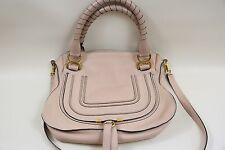Chloe 'Medium Marcie'  Leather Satchel Bag  RETAIL $1,990  Blush Nude