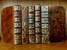 COLLECTION OF ANTIQUE BOOKS 1700s