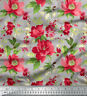 Soimoi Floral Print 44 Inches Wide Dressmaking Pure Silk Fabric By The Yard