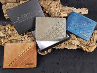 Geldbörse RFID-Schutz Portemonnaie Echt Leder Geldbeutel Herren Praktisch