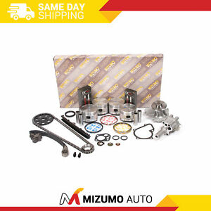 Engine Rebuild Kit Fit 90-97 Nissan D21 Pick Up 2.4L SOHC KA24E 12V