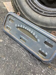 Chevrolet Vintage Dash Instrument Cluster 1930's 1940's Truck Hot Rod
