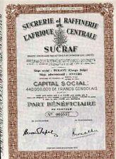 SUCRAF - Sucrerie et Raffinerie de l'Afrique Centrale