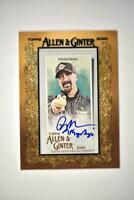 2020 Topps Allen and Ginter Mini Framed Auto #MA-PN Rob Friedman - Pitch Analyst