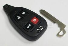 New OEM Infiniti M45 Keyless Remote & Uncut Key 2003-2004
