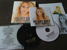 Hilary Duff / most wanted /JAPAN LTD CD&DVD book