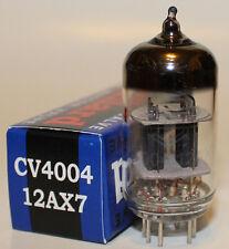 Mullard CV4004 / 12AX7 / ECC83 pre-amp tubes,Reissue, NEW, Balanced Triodes